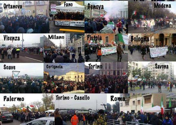Pitchfork Protests All Across Italy