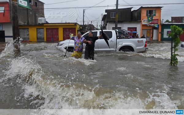 Climate Flooding Brazil