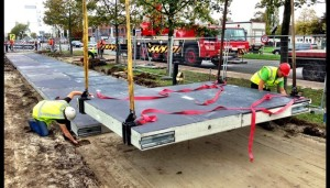 Environment Solar Road Pre-fabricated-concrete-slabs2-700x400